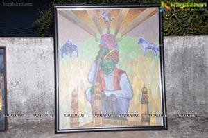 Ahmed Khan Art Exhibition