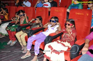 Jurassic Park 3D Screening at Cinemax, Hyderabad