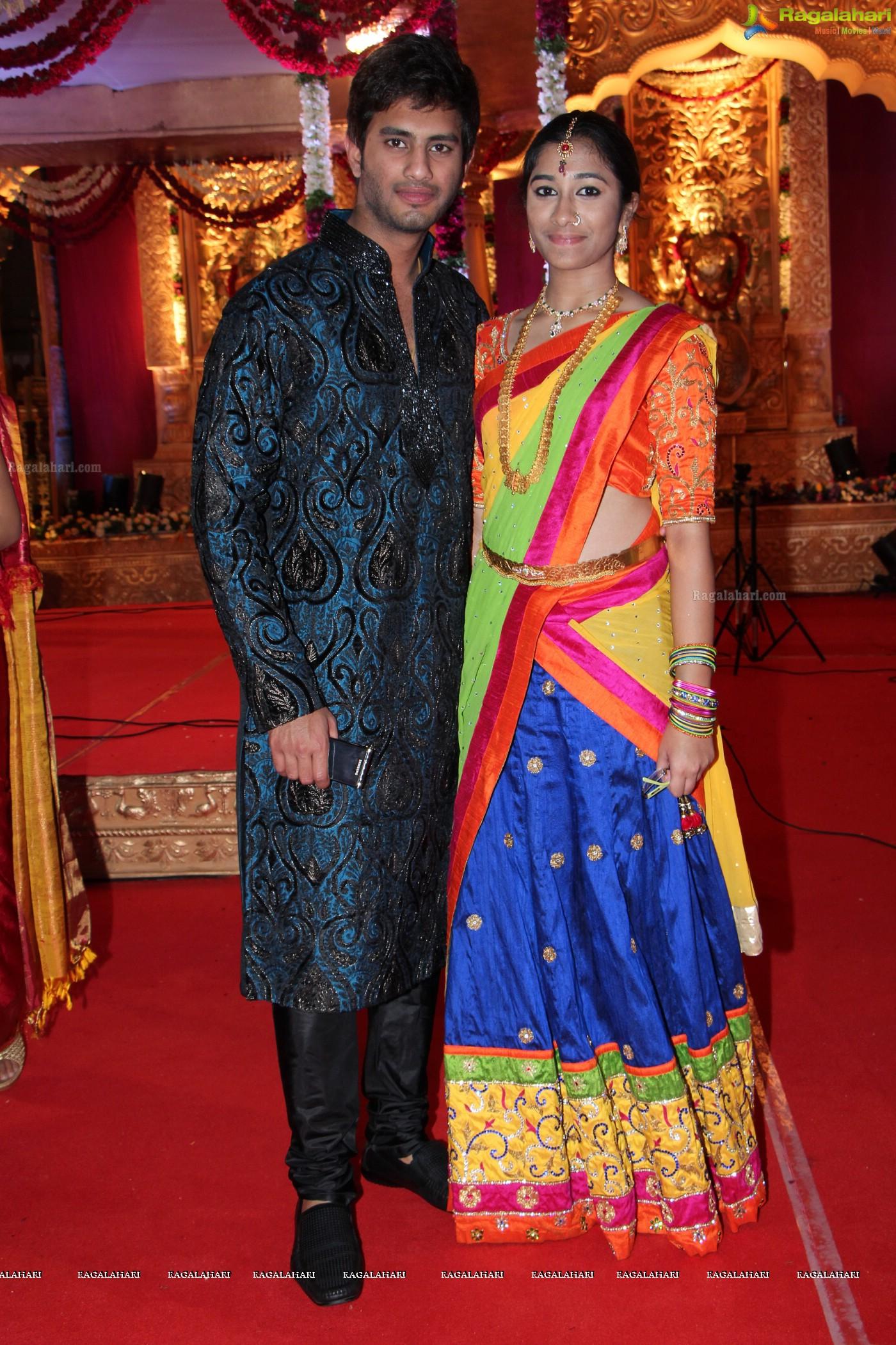 Madhuri reddy wedding