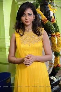 Rakul Preet Singh in Yellow Dress