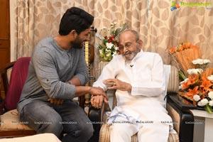 Allu Arjun meets K Viswanath