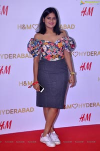 H and M Launch Party