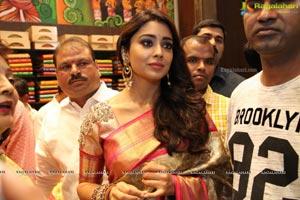 Shriya inaugurats Kancheepuram VRK Silks