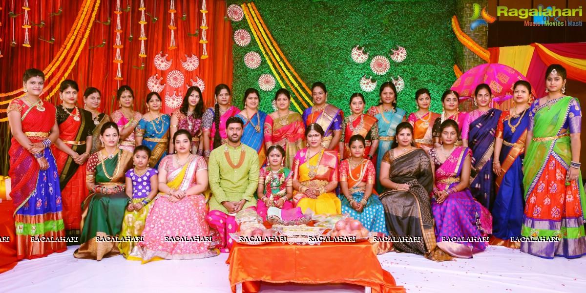 Photos Half Saree Function Of Hiya Daughter Famous