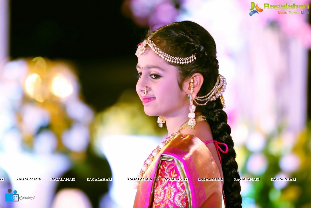 Photos Half Saree Function Of Hiya Daughter Of Famous