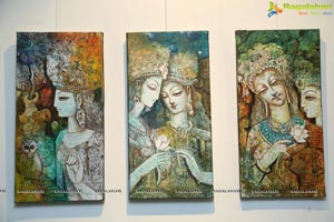 Aalankritha Art Gallery'sA Painting Exhibition