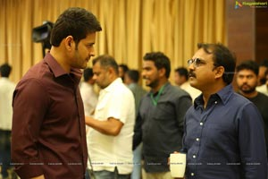 Bharat Ane Nenu Working Stills