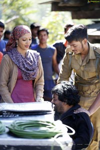 Mehbooba Working Stills