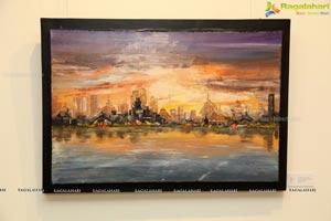Shifting Realities by Ashok Kumar - Painting Exhibition