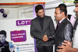 Allu Arjun Lot Mobiles Showroom Launch Photos