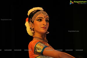 Indian Kuchipudi Dancer