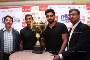5th Airtel Hyderabad Marathon Press Meet