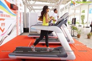 The 36 Hour Treadmill Run by Arun Bhardwaj at HITEX