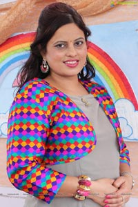 Sawaan with Rainbow Colours
