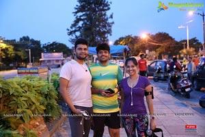 Airtel Hyderabad Marathon 2017, Trail Run