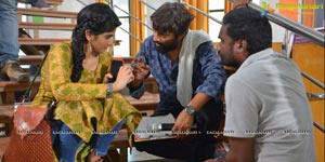 Hanu Ragahavapudi Lie working stills