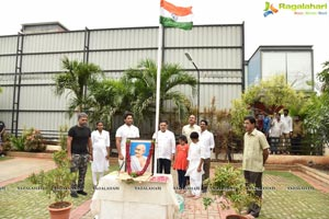 Geetha Arts Flag Hoisting