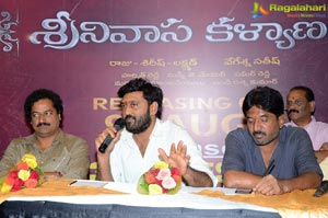 Srinivasa Kalyanam Press Meet