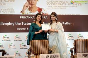 FICCI Priyanka Chopra Pinky Reddy