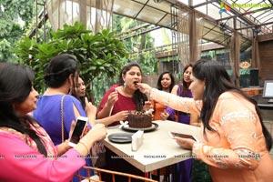 Swetha Srinivas Birthday Party at Farzi Cafe