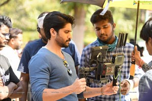 Sailaja Reddy Alludu working Stills
