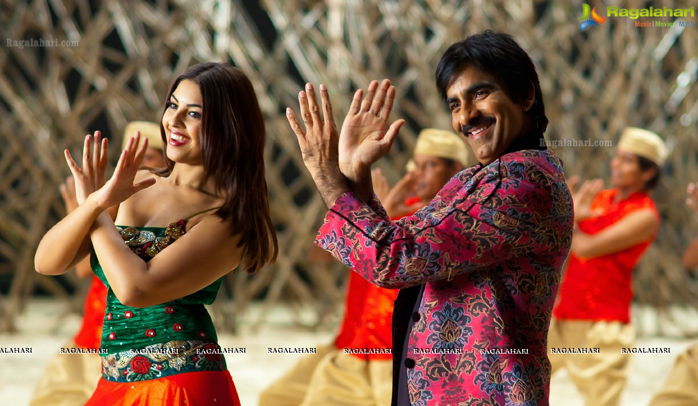 Ravi Teja and Richa in Sarocharu
