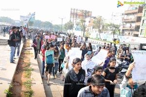 Hyderabad Delhi Gangrape Protest