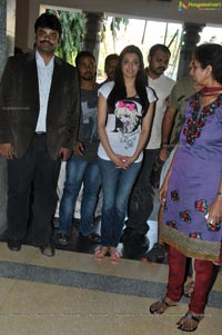 Kajal Agarwal MNJ Cancer Hospital