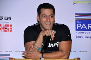 Salman Khan in Hyderabad