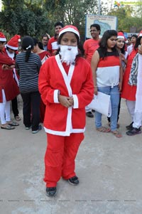 Santa aganist Child Labour