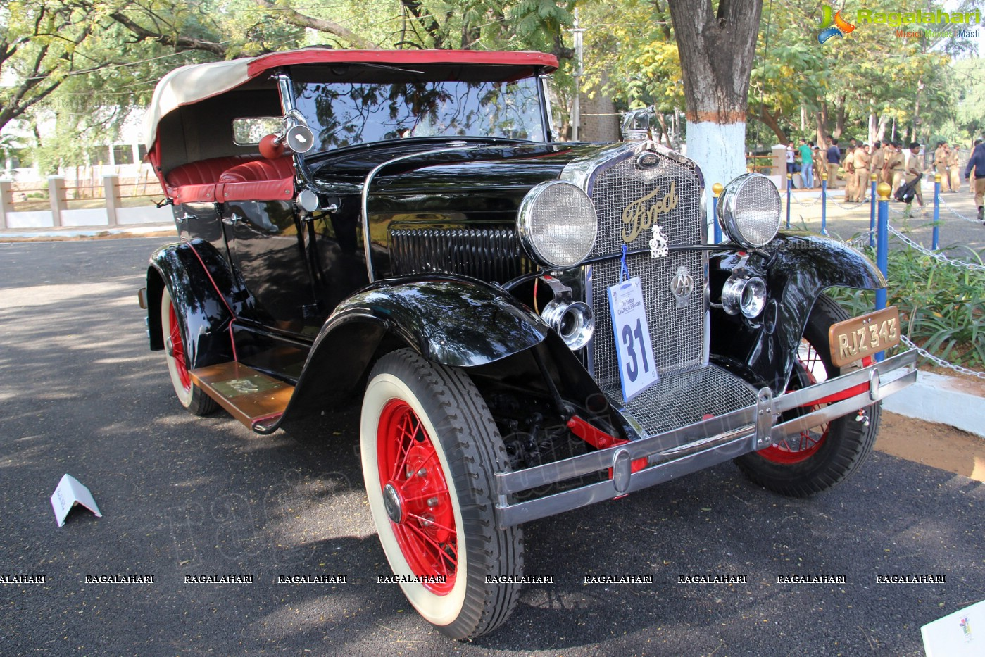 Vintage Car Rally and Showcase by Jagirdars College and The ...