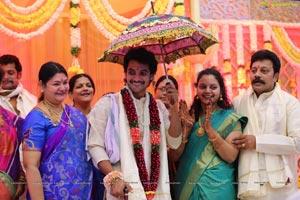 Hero Aadi Wedding Photos