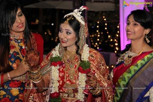 Sonia Majumdar and Abhishek Wedding