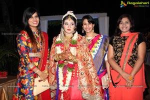 Sonia Majumdar and Abhishek Wedding
