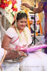 Heroine Soumya-Dinakar Wedding, Vizag