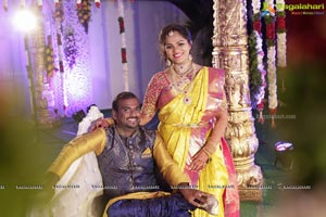 Padma Naga Sravya Wedding