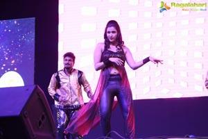 NYE 2017 Celebrations Mannara Chopra
