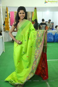 Silk and Cotton Expo Charishma Shreekar