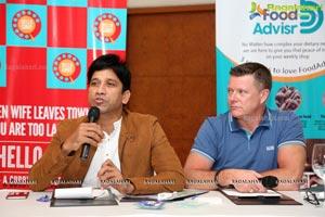 Hello Curry Press Conference at Taj Krishna