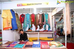 National Silk Expo At Sri Satyasai Nigamagamam