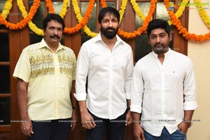 Gopichand, Thiru & AK Entertainments Muhurat