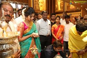 Anupama Parameswaran Inaugurates Kanchipuram VRK Silks