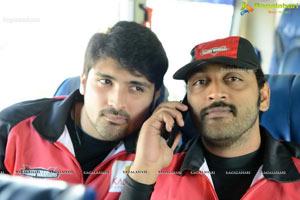CCL 2013 Telugu Warriors Team at Taj Deccan, Hyderabad