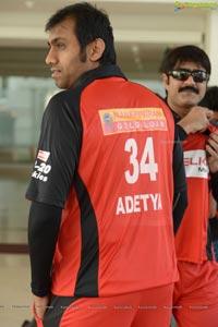 CCL 2013 Telugu Warriors Team Photos