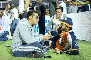 CCL 3 Salman Khan with Venkatesh