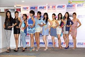 Max Miss Hyderabad 2014 Finalists