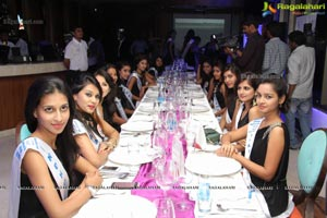 Miss Hyderabad Finalists at News Cafe