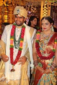 Sushanth, Tejaswini Wedding at JRC