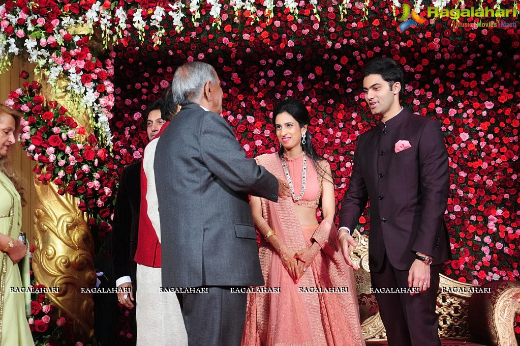 Amarinder singh grandson wedding
