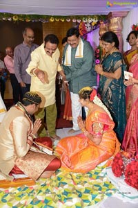 Director K Vasu Daughter Deepthi Wedding